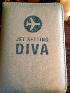 Divaesque Passport Cover